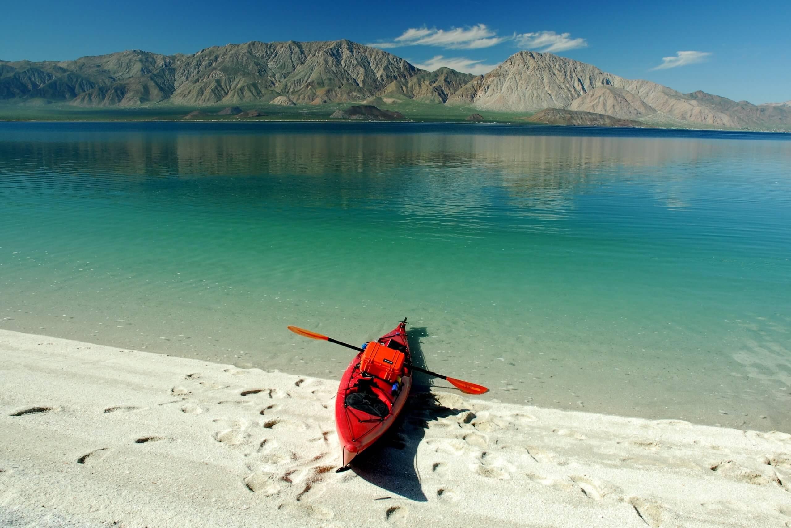 Kayaking in Baja_Landscape