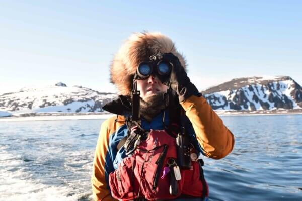 Photo of The Polar BARE Facts with Wild Women Team Member Franny Bergschneider.