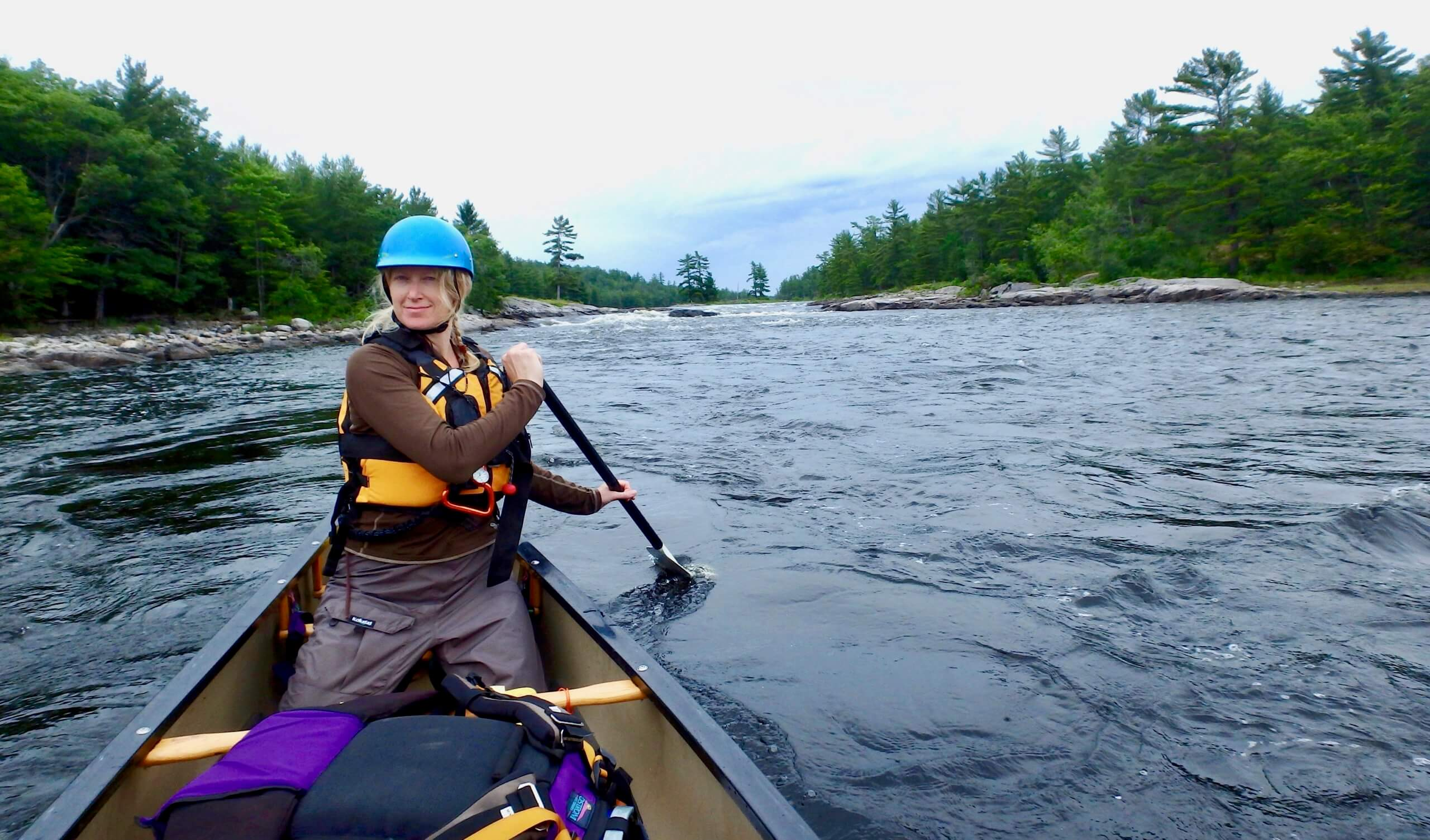 Canoe trip, Wild Women Expeditions